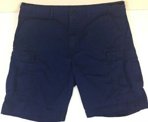 28df68ac Levis Strauss & Co. - Navy Blue - Cargo Shorts - Snap Pockets ...