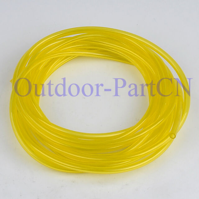 """10FT /3M Gas Petrol Fuel Line ID .08""""xOD .14"""" /2mm x3.5mm For Chainsaw Trimmer"""