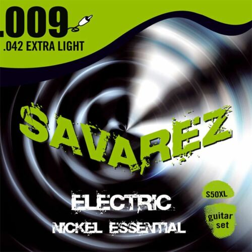 S50XL Electric Nickel Essential extra light 09-42 Savarez