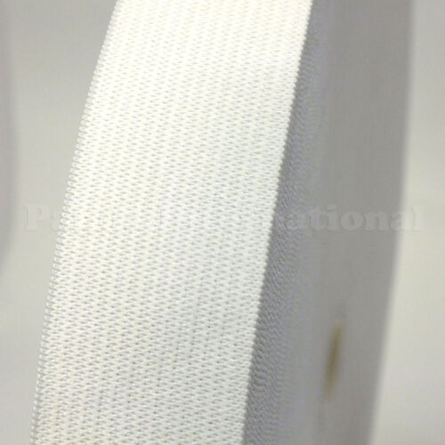 New Knitted Soft Elastic 1.75 inch white Fast Shipping from USA Length 50 yds