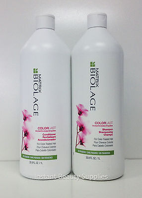 Matrix Biolage Color Last Care Shampoo Conditioner 33.8 oz / Liter Duo Set