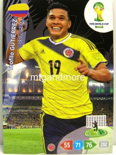Adrenalyn XL-Teofilo Gutierrez-colombia-FIFA World Cup Brazil 2014 WM