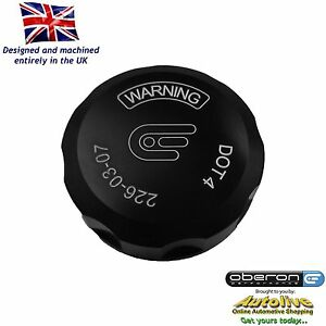Details about Oberon Performance Black Ducati Clutch Reservoir Cap  RES-0003-BLACK
