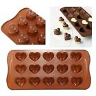 Heart Dimpled Candy Silicone Chocolate Mold Cake Fondant Tray mould ICE Cube