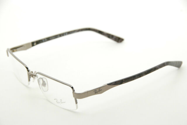 Authentic Ray Ban RB 8616 1000 Titanium Marble 52mm Frames ...