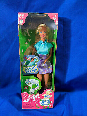 1998 Special Edition NRFB Easter Surprise Barbie
