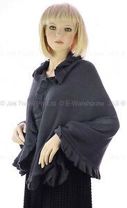 075ec484d137b Image is loading Ladies-Winter-Evening-Fashion-Knit-Stole-Cape-Shawl-