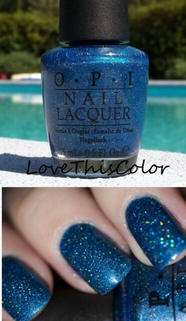 Opi Nail Polish The Flowers Are Blue Ming Lacquer Nl U05 Vhtf