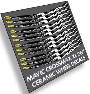 Mavic-CrossMAX-26-034-Ceramic-V-BRAKE-decals-stickers-label-for-bike-bicycle-wheels