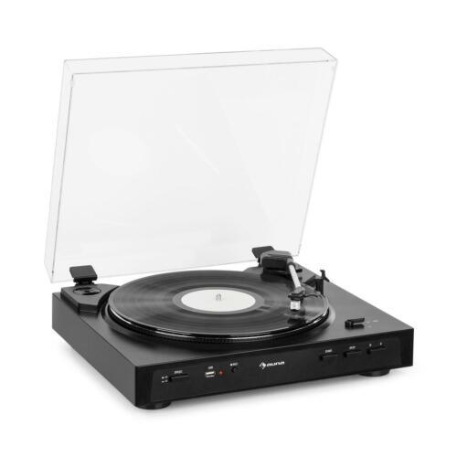 *B-WARE* Plattenspieler Vinyl Schallplatte Turntable USB Aufnahme Vorverstärker