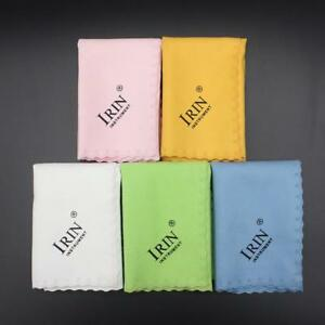5pcs Guitar Violin Cleaning Cloth Microfibre Musical Instruments Polishing Cloth