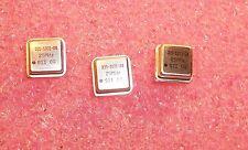 QTY (10) 25 MHz 1/2 SIZE OSCILLATOR SCO-1102-25.000MHz SIWARD