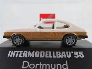 Herpa-Ford-Capri-II-1978-1986-034-intermodellbau-039-95-dortmund-034-1-87-h0-nuevo-en-el-embalaje