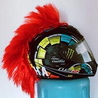 Helmet Mohawk Hair Punk For Motorcycle Dirtbike Ski Paintball Helmet Accessories