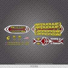 01033 Cannondale Bicicletta Adesivi-Decalcomanie-Transfers