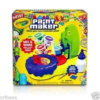 Crayola Paint Maker Create Customized Paint Colors 74-7080 15 Distinct Colors