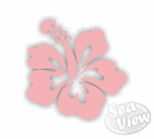 30 hibiscus fleur voiture van chambre fenêtre autocollants muraux