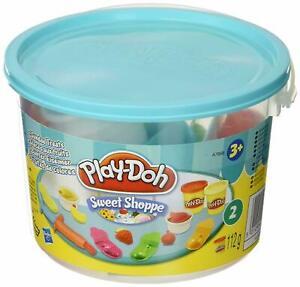 HASBRO-A7658-Play-Doh-Sweet-Shoppe-Bunter-Eiseimer-Knete-112-g