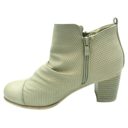 Womens Ladies Creased Ruched Ankle Boots Low Block Heeled Boots Size 3-7 Shoes