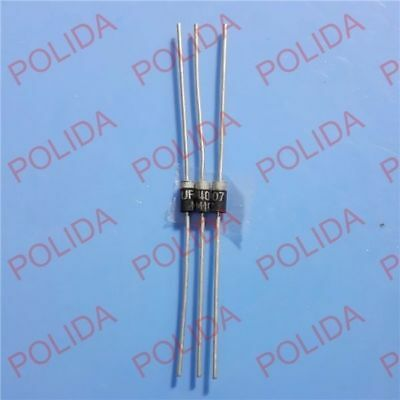1000PCS UF4007 DIODE Fast Recovery Diodes 1000V 1A DO-41 MIC NEW
