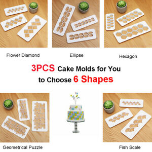 3x-Cookie-Cutters-Set-Cake-Molds-Biscuit-Baking-Cupcake-Moulds-Decor-Pastry