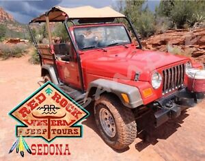 Image Is Loading AZ Sedona RED ROCK JEEP TOURS Souvenir Fridge