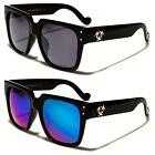 Biohazard Retro Chic Thick Blocky Style Wayfarer Men's Sunglasses
