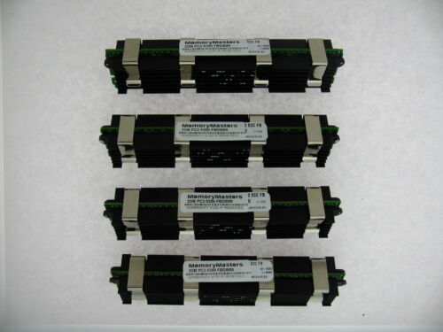 8GB 4x 2GB RAM 667MHz ECC FB DIMM Memory APPLE MAC PRO