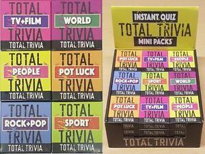 Details about Total Trivia Quiz Film TV Music Sport General World Knowledge  Stocking Filler