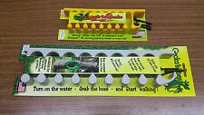 Gecko's Toes Water Garden Hose Rack and Lectric Gecko Extension Power Cord Rack