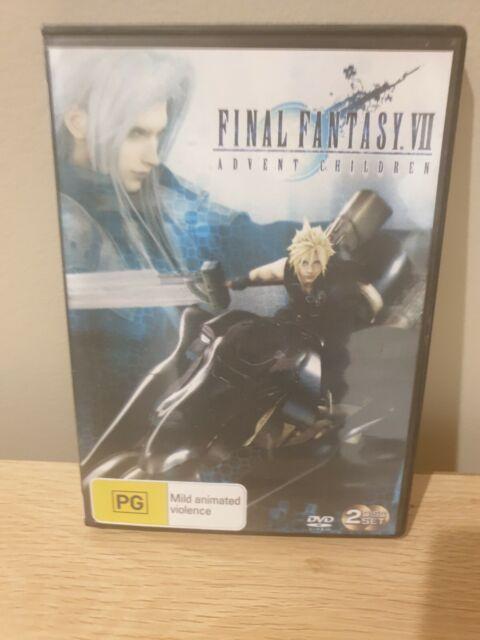 Final Fantasy Vii Advent Children Dvd