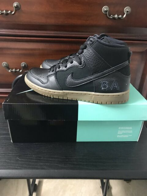 Nike SB Zoom Dunk High Pro QS Brian Anderson Anti Hero Gum AH9613 001 Size 7.5