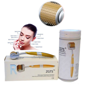 ZGTS-Derma-Roller-Titanium-Micro-Needle-Anti-Ageing-Acne-Scar-Wrinkle-Skin-Care