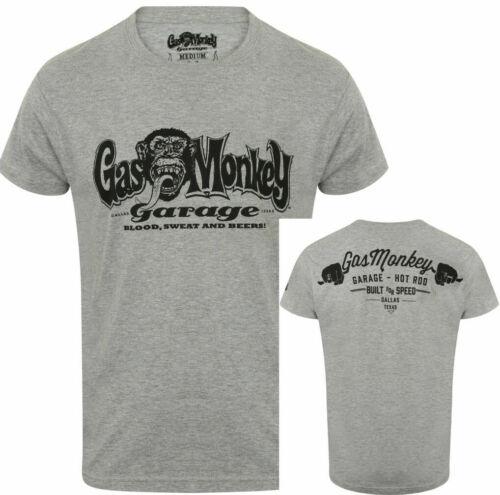 Official Gas Monkey Garage Essentials Mens GMG Hands T-Shirt
