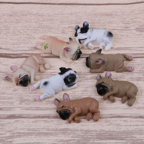 French bulldog sleepy corgis dog toy action figures PVC model toy doll kid TO