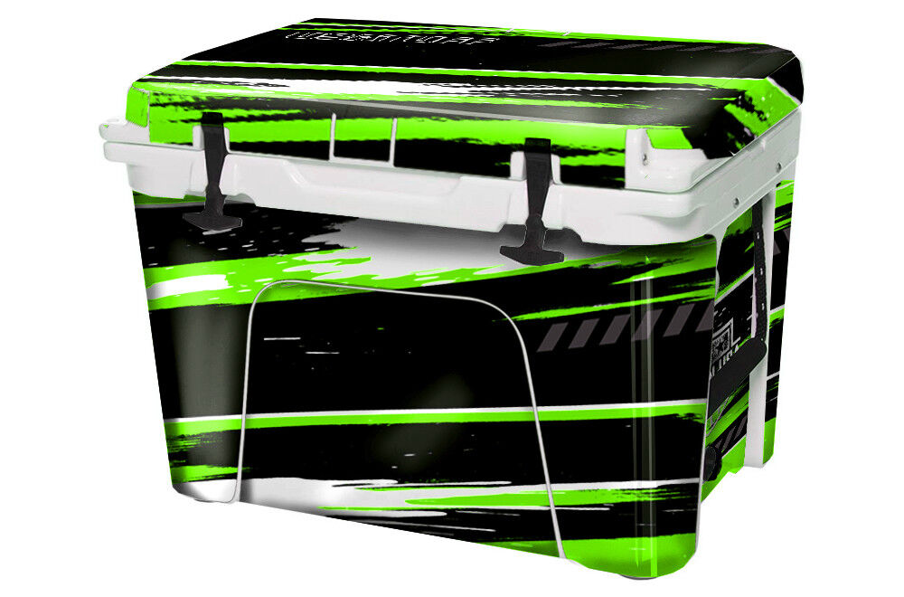 USATuff Custom Cooler Decal Wrap fits YETI Tundra 125qt FULL RZR SxS Grn