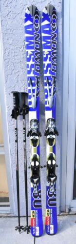 Details about  /Salomon CrossMax08 Pilot Skis 170cm Salomon s810 Ti Bindings sportube case poles