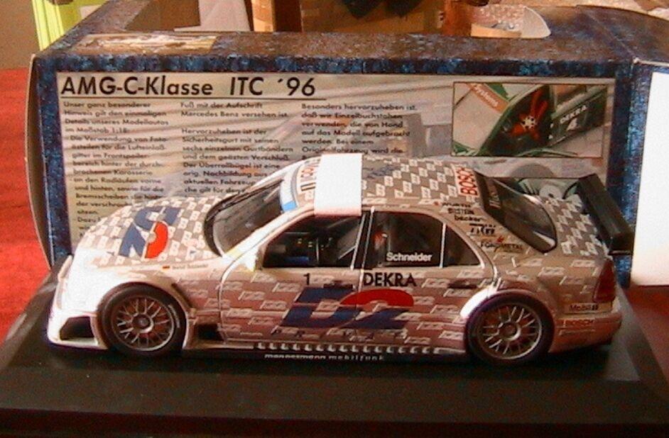 MERCEDES C KLASSE  1 D2 AMG ITC 1996 SCHNEIDER EXCLUSIV CARS 1 18 DEKRA MOBIL 1