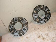 Pair Of Wheel Adapters 55 To 4 34 Old Ford To Chevrolet Gm 2367