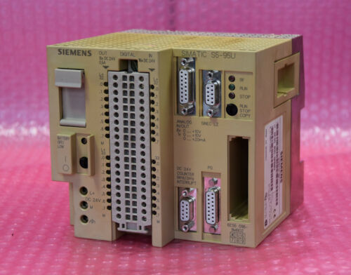 Siemens Simatic S5 Kompaktgerät 095U  Typ 6ES5 095-8MB02 6ES5095-8MB02