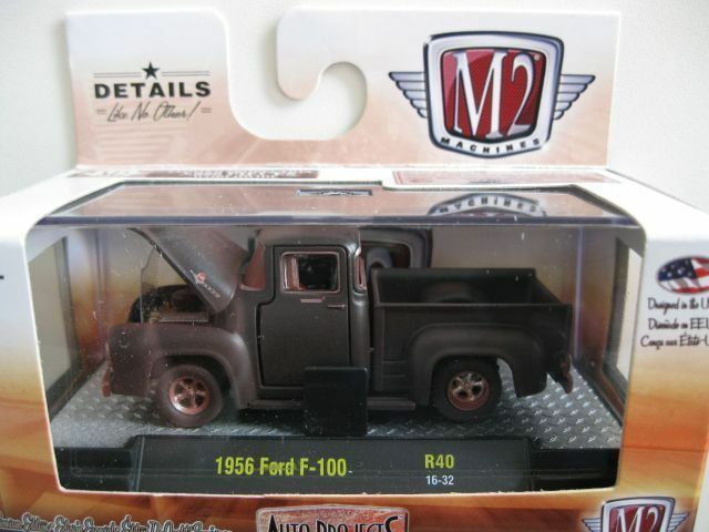 `56 Ford F-100 Truck  Rusty Patina 1956 *** M2 Machines Projects 1:64 OVP