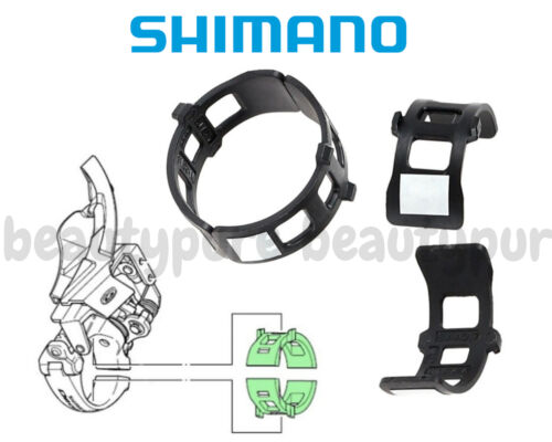 for F Derailleur Mount New 1pc Shimano Clamp Band Adapters 34.9-/> 31.8mm