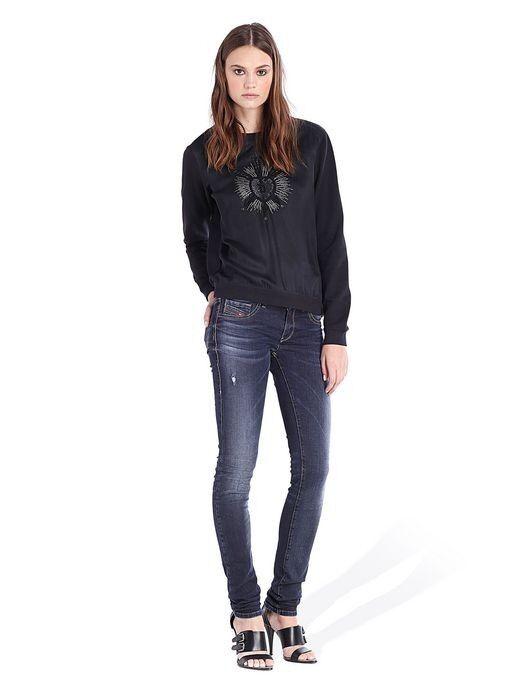 NEW Tall Woherren Diesel Livier Super Skinny Stretch Jegging Jeans  WASH0837U