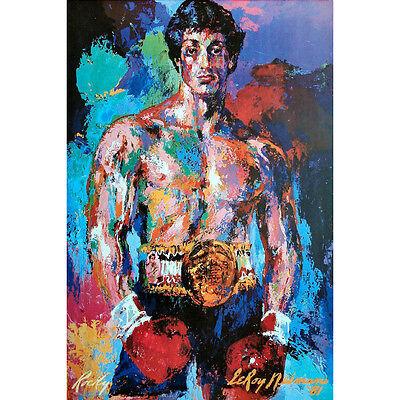 Rocky Hot Movie Art Silk Poster Print