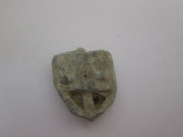 1 Small Vintage DREIDEL - - -  Relic Lead Draidel hebrew Jewish old antique