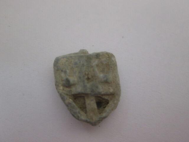 1 Small Vintage DREIDEL - - -  Relic Lead Draidel hebrew Jewish old antique