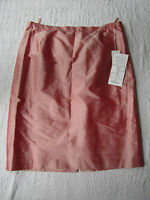 Long Pink Silk Skirt In Size 20 By Elegance - - Special Occasion - W40