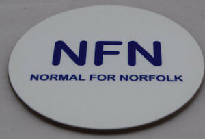 NFN-Normal-For-Norfolk-fun-coaster-ideal-gift-FREE-PERSONALISATION