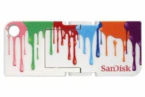 SanDisk-SDCZ53A-016G-B35-Cruzer-Pop-16GB-USB-Flash-Drive-White-Paint