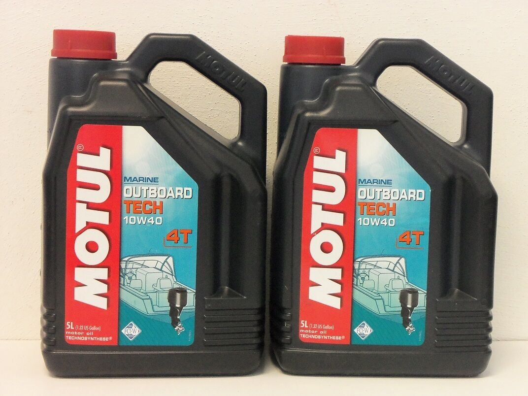 /l Motul Outboard Tech 4T 10W-40 2 2 2 x 5 L Motoröl für 4-T Außenbordmotoren d643cf